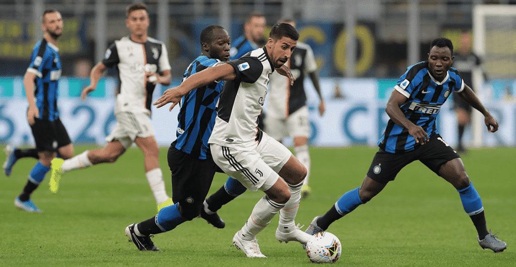 Juventus vs Inter de Milán